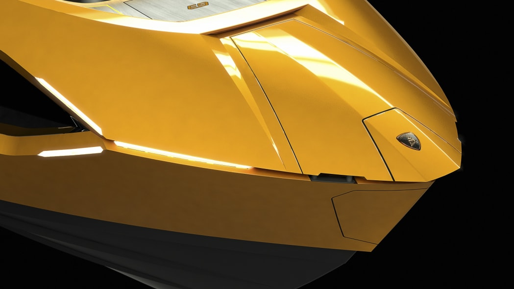 Tecnomar Lamborghini yacht