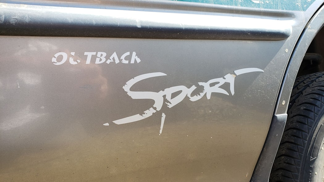 14 - 1998 Subaru Impreza Outback Sport in Colorado Junkyard - photo by Murilee Martin
