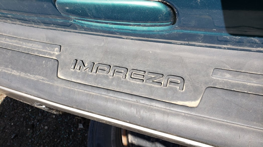 31 - 1998 Subaru Impreza Outback Sport in Colorado Junkyard - photo by Murilee Martin