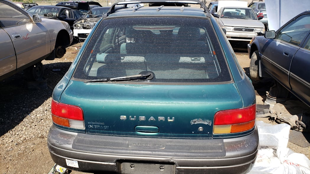 36 - 1998 Subaru Impreza Outback Sport in Colorado Junkyard - photo by Murilee Martin