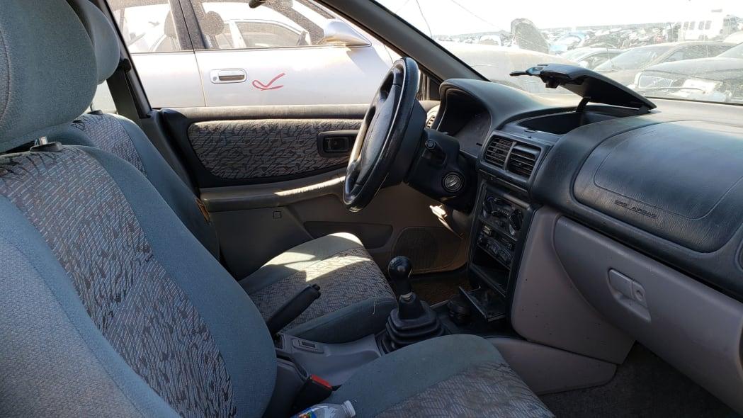 41 - 1998 Subaru Impreza Outback Sport in Colorado Junkyard - photo by Murilee Martin
