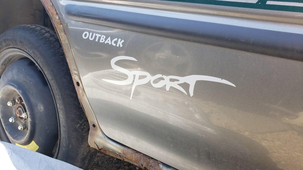 42 - 1998 Subaru Impreza Outback Sport in Colorado Junkyard - photo by Murilee Martin