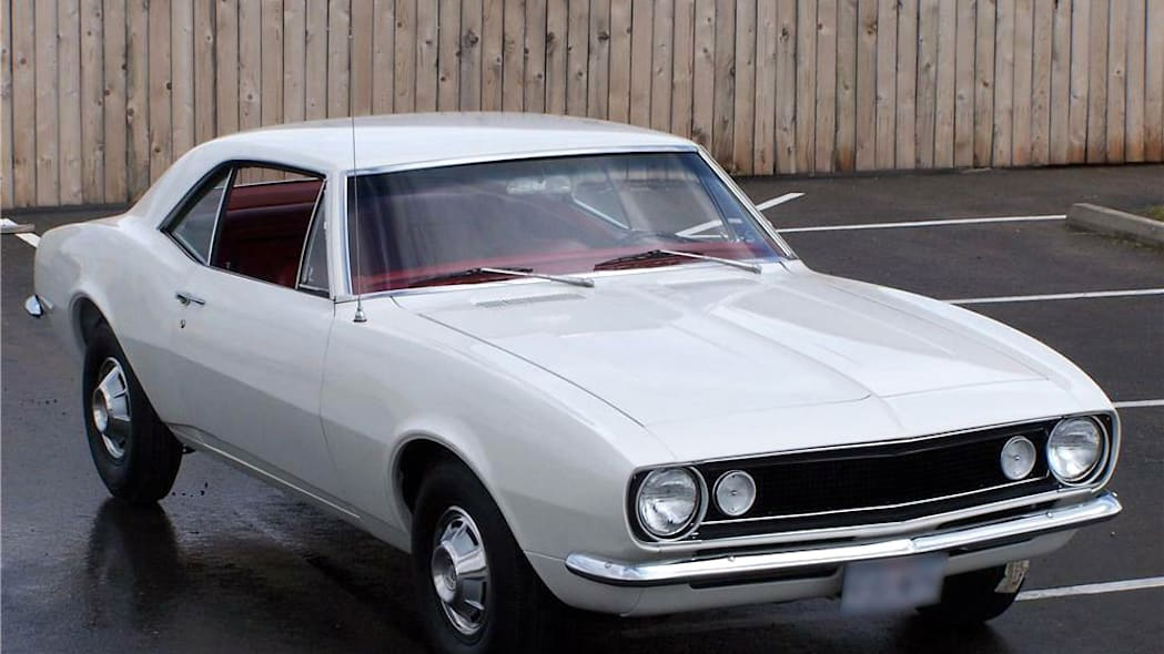 1967 Chevrolet Camaro, Fisher body number one