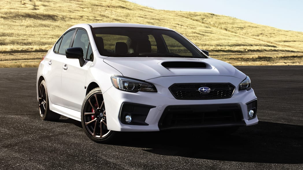 2020 Subaru WRX Series.White