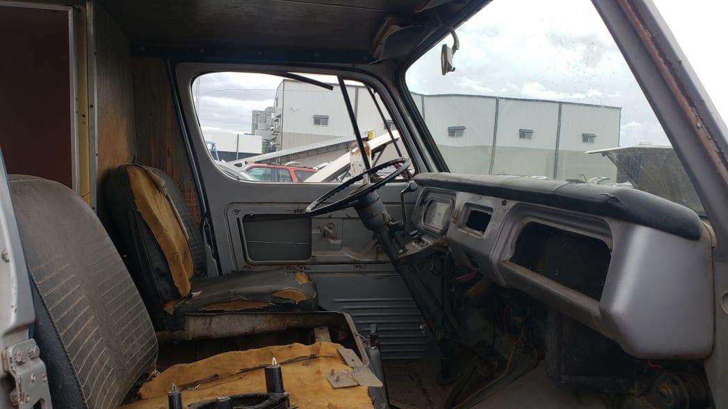 14 - 1969 Chevrolet Van in Colorado Junkyard - photo by Murilee Martin