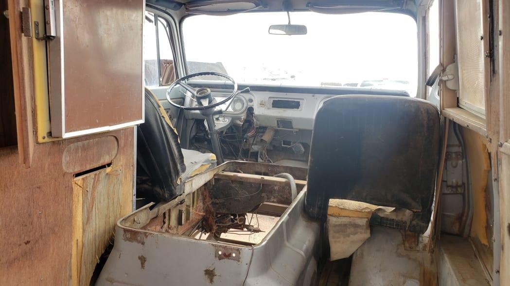 18 - 1969 Chevrolet Van in Colorado Junkyard - photo by Murilee Martin