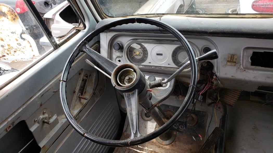41 - 1969 Chevrolet Van in Colorado Junkyard - photo by Murilee Martin