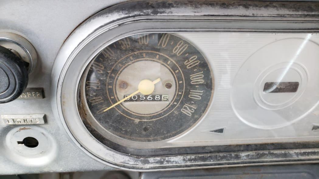 46 - 1969 Chevrolet Van in Colorado Junkyard - photo by Murilee Martin