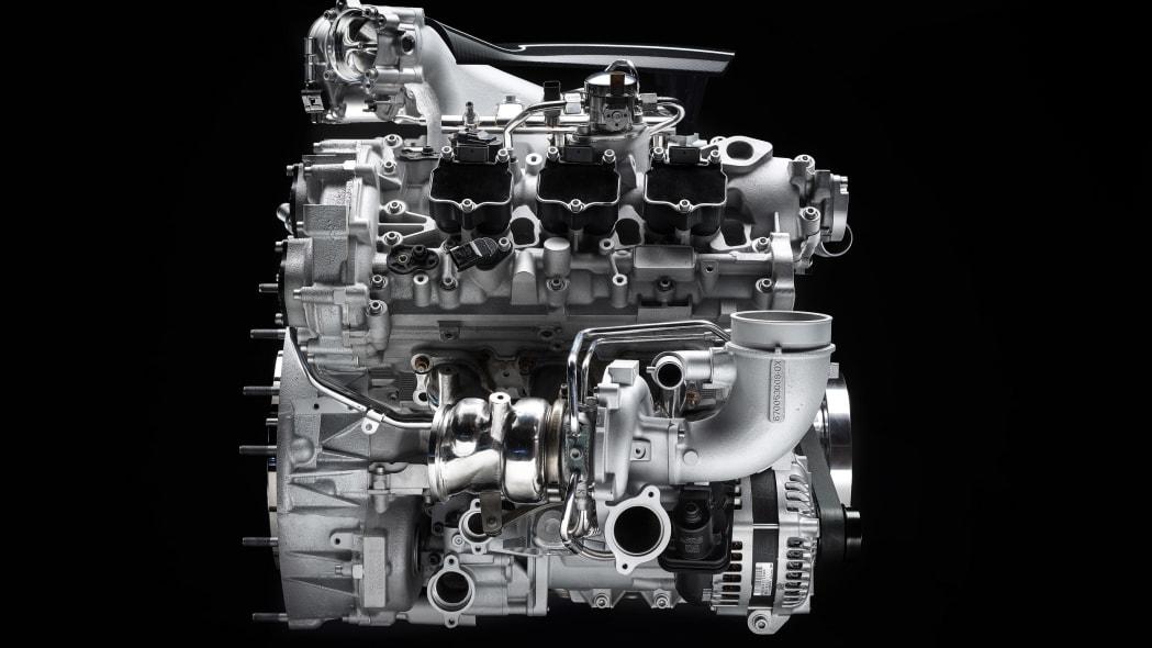 Maserati Nettuno V6 engine