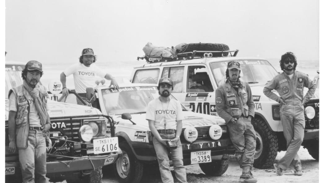 1982 Toyota Dakar team