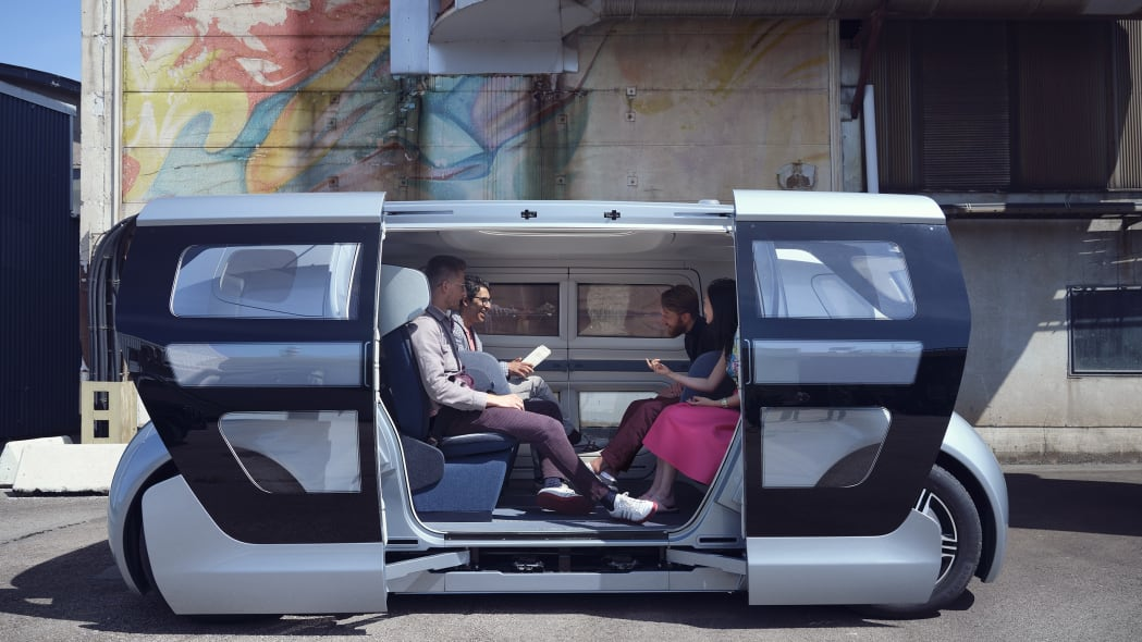 NEVS Sango shuttle