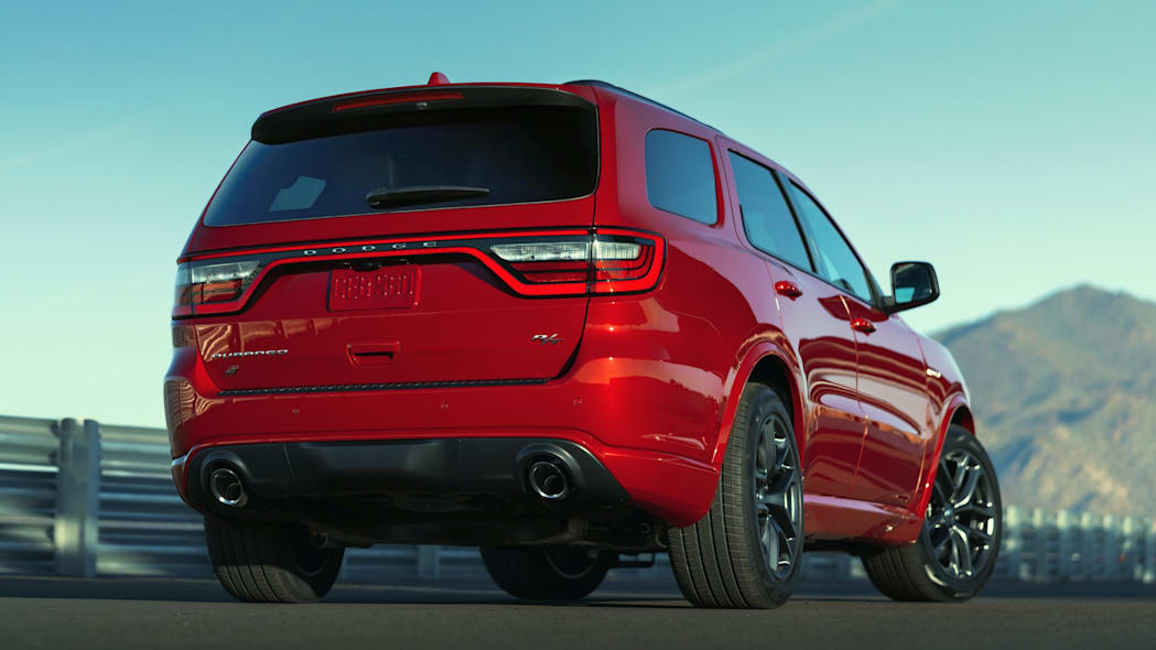 Dodge Durango R/T Tow N Go: The R/T Tow N Go features a re-tuned SRT-performance exhaust with an unmistakable iconic Dodge exhaust rumble