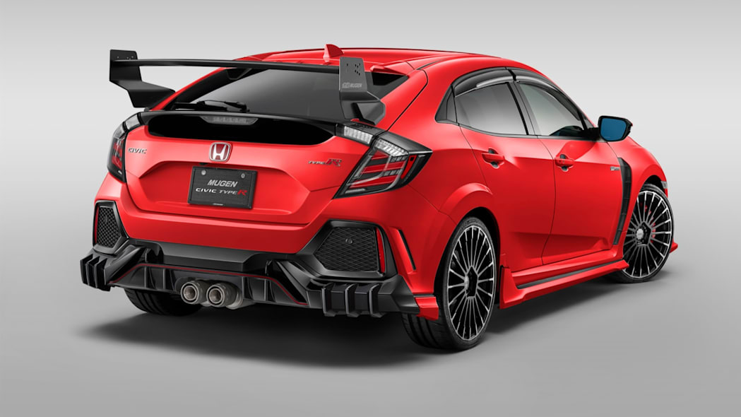 Mugen Honda Civic Type R Components