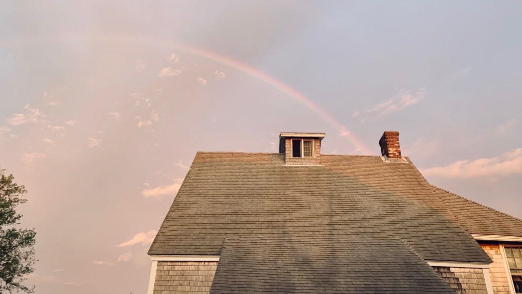 Cape Cod Road Trip rainbow
