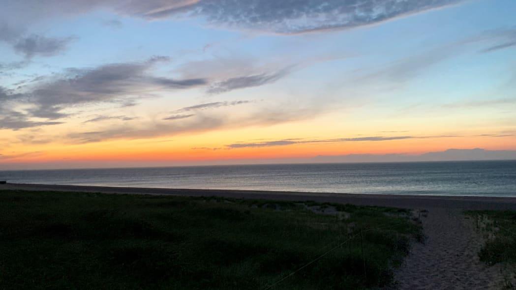 Cape Cod Road Trip sunset