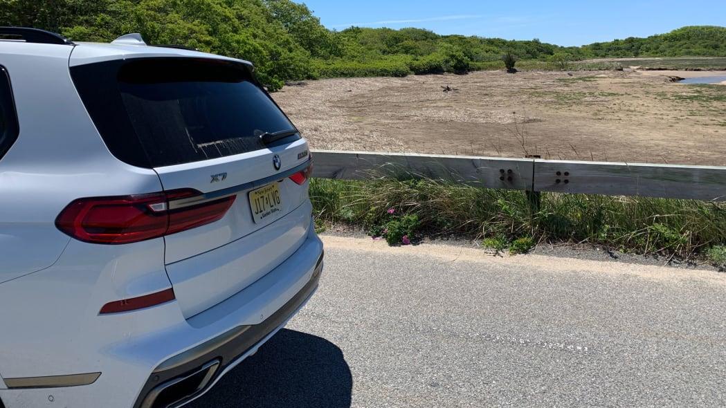 2020 BMW X7 M50i rear detail
