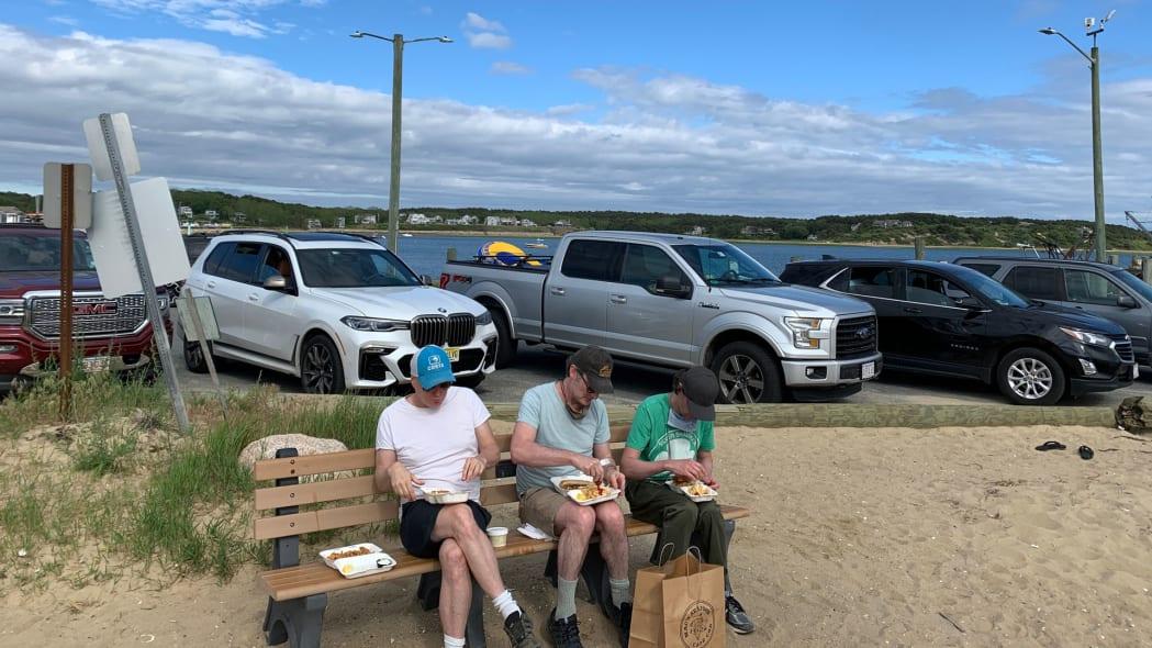 Cape Cod Road Trip eating