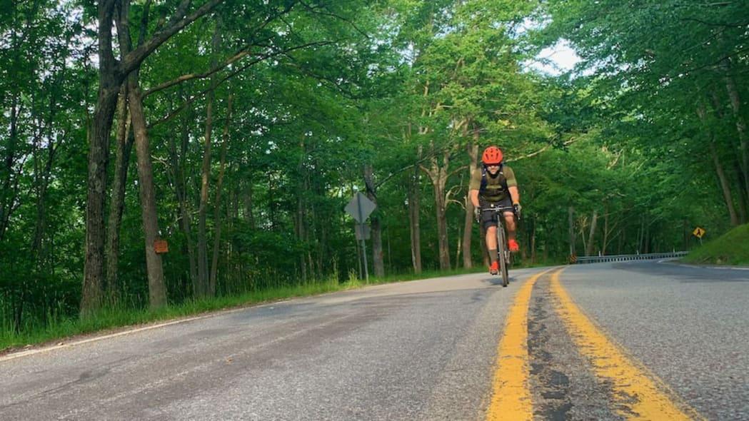 Biking in Covid Dale Esbin 2