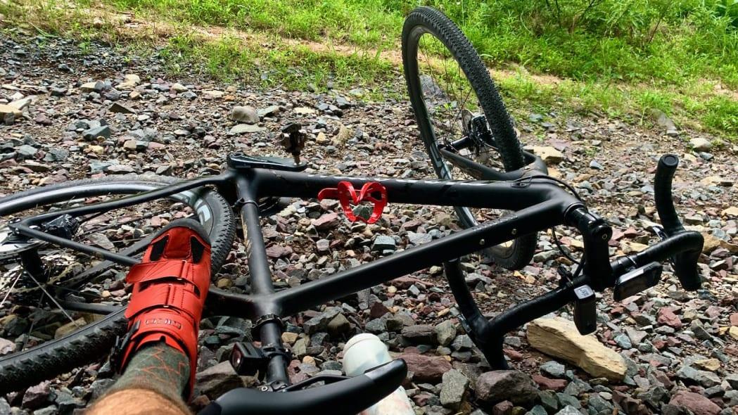Biking in Covid Dale Esbin 4