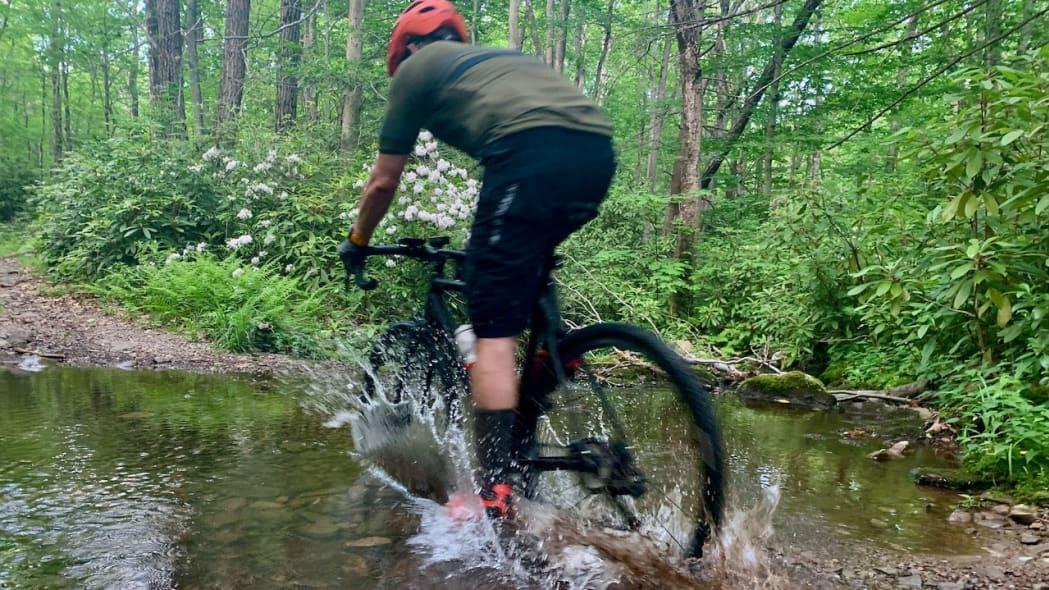 Biking in Covid Dale Esbin 7