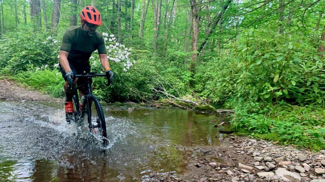 Biking in Covid Dale Esbin 8