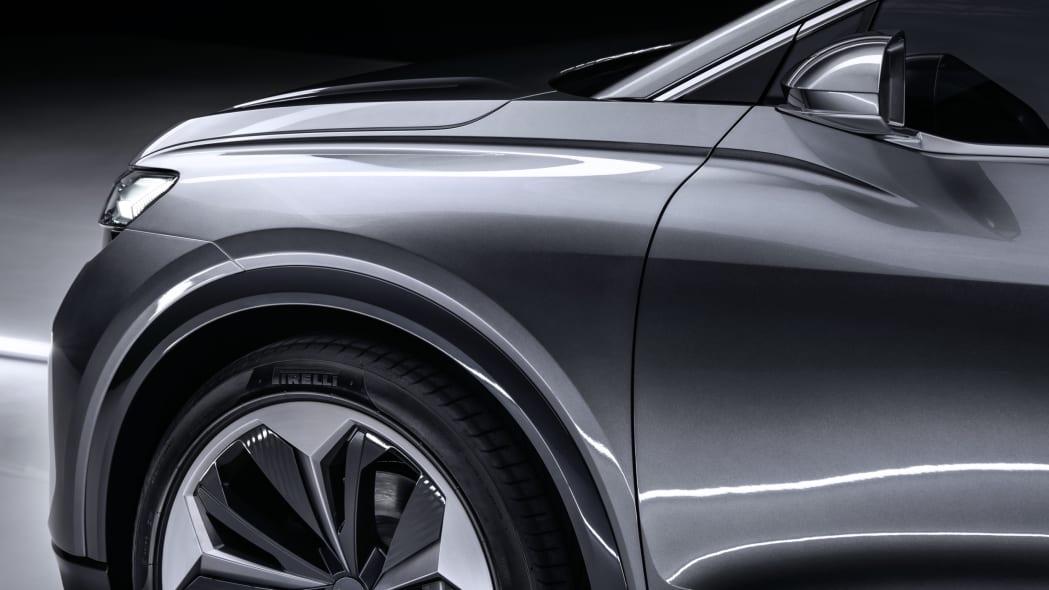 Audi Q4 Sportback E-Tron concept studio photo 02