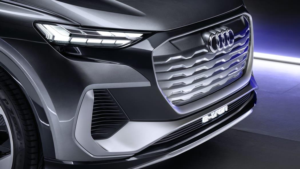 Audi Q4 Sportback E-Tron concept studio photo 03