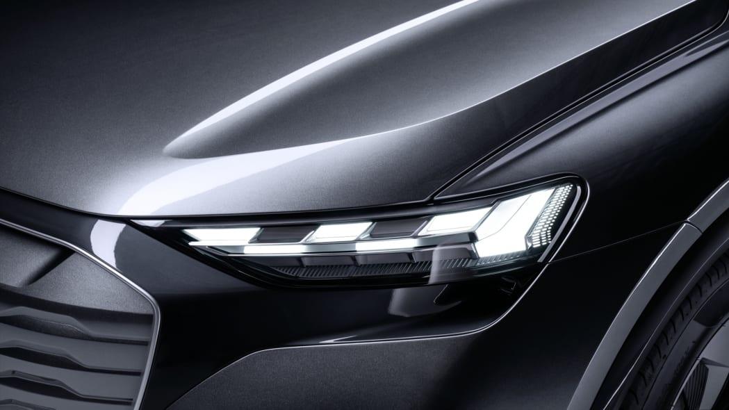 Audi Q4 Sportback E-Tron concept studio photo 04