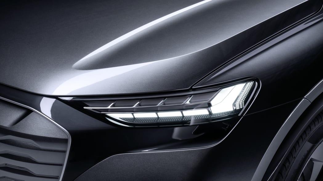 Audi Q4 Sportback E-Tron concept studio photo 05
