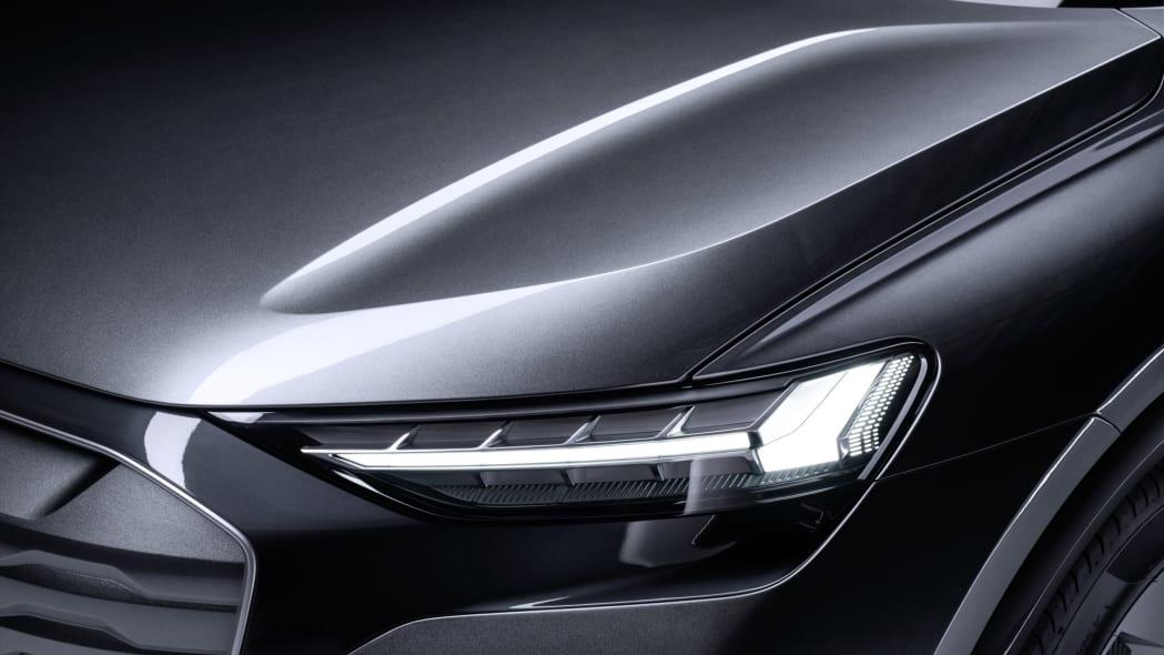 Audi Q4 Sportback E-Tron concept studio photo 06