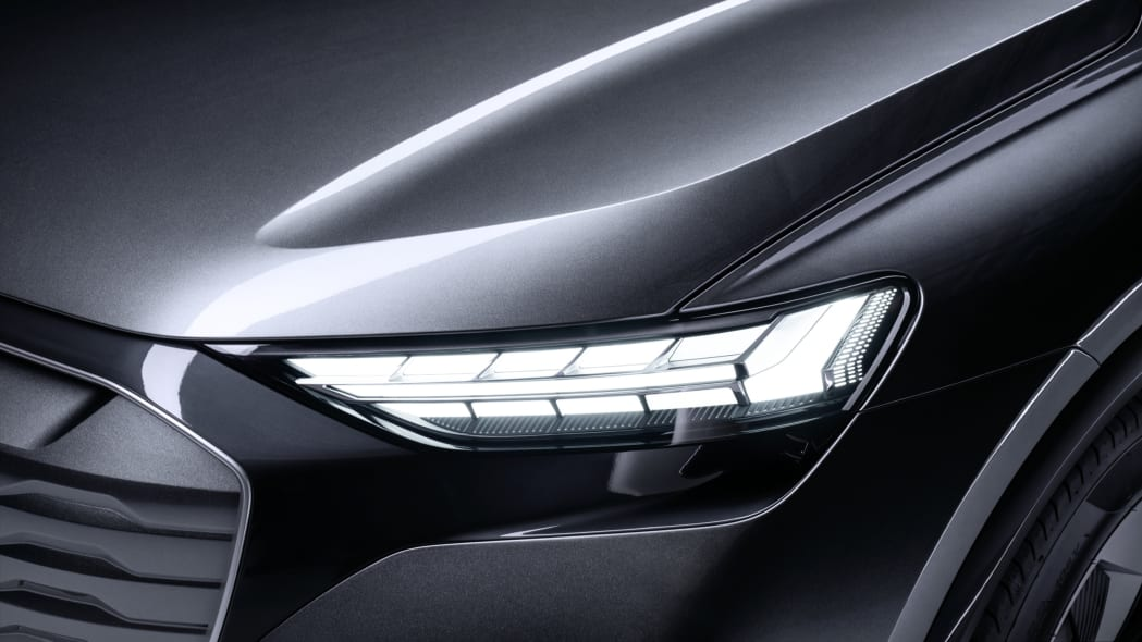 Audi Q4 Sportback E-Tron concept studio photo 07