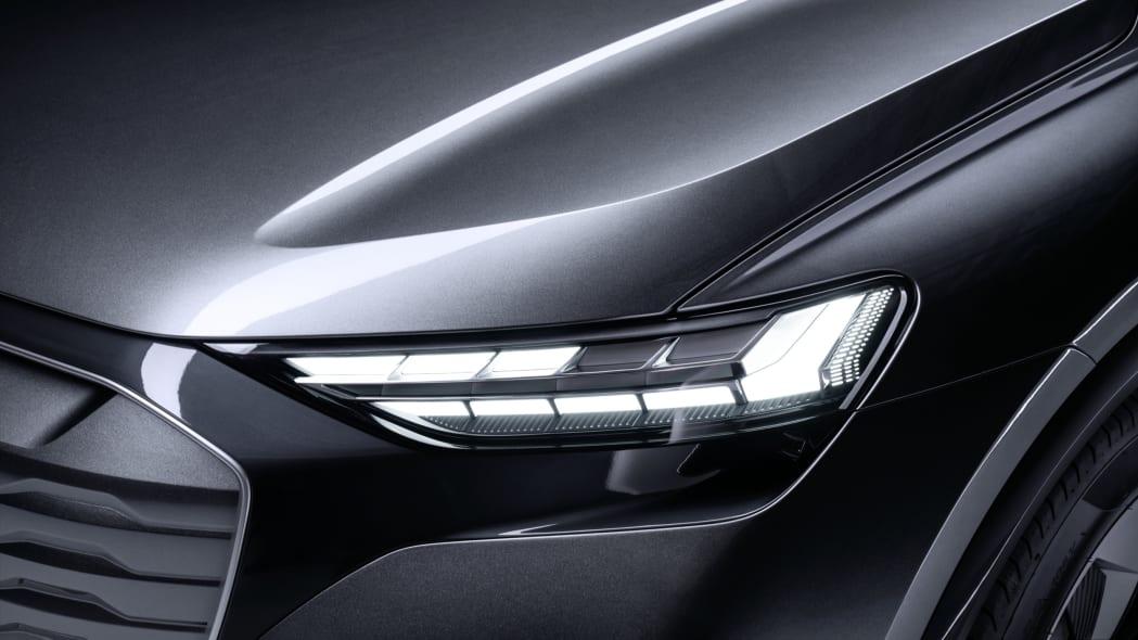 Audi Q4 Sportback E-Tron concept studio photo 09