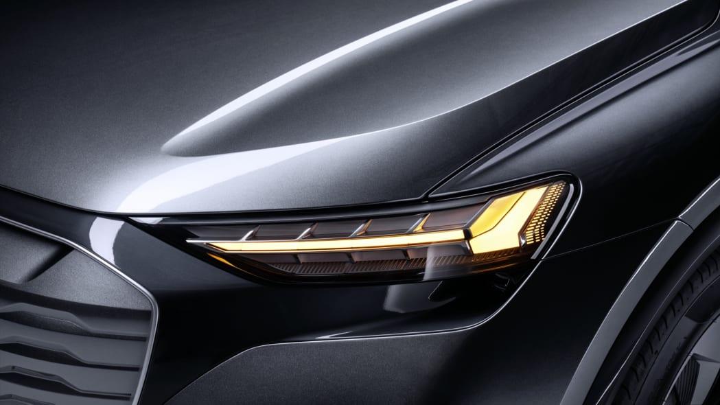 Audi Q4 Sportback E-Tron concept studio photo 10