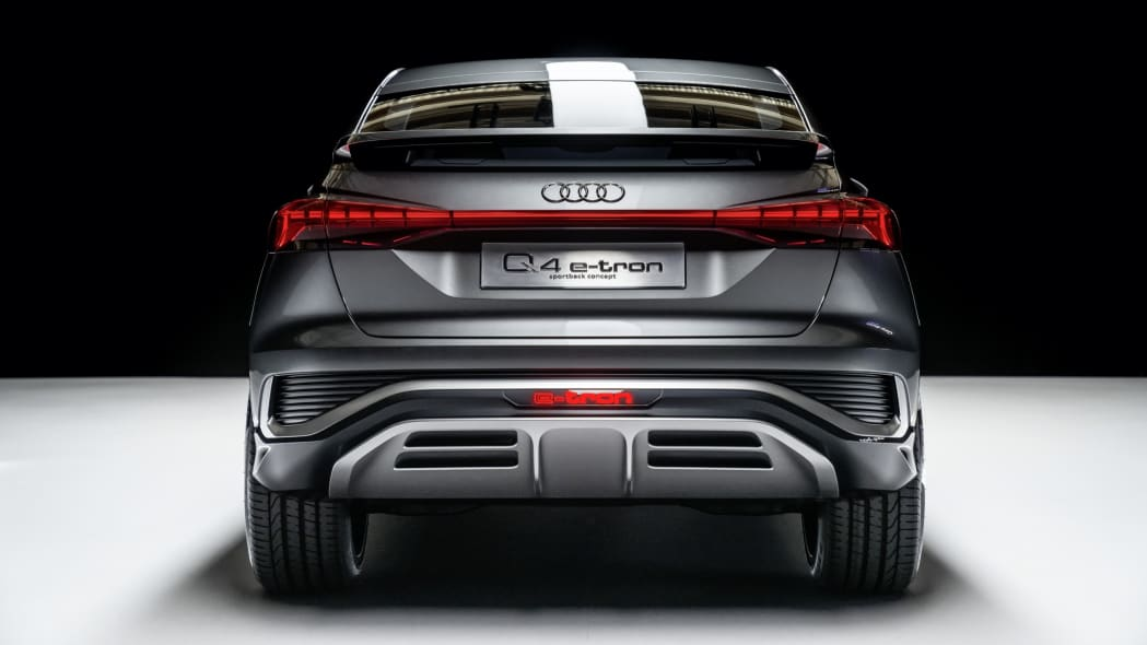 Audi Q4 Sportback E-Tron concept studio photo 12