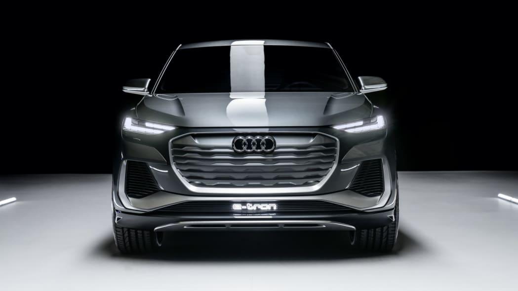 Audi Q4 Sportback E-Tron concept studio photo 14