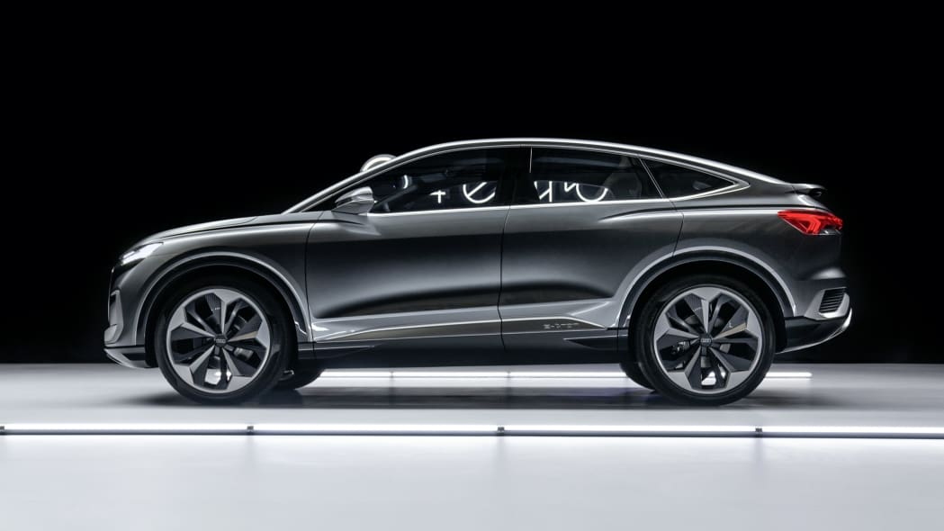 Audi Q4 Sportback E-Tron concept studio photo 20