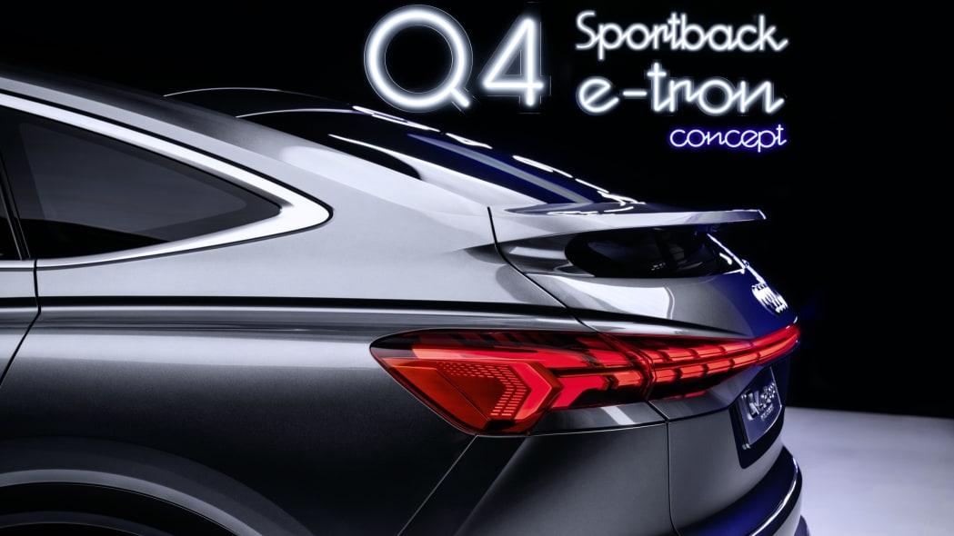 Audi Q4 Sportback E-Tron concept studio photo 25