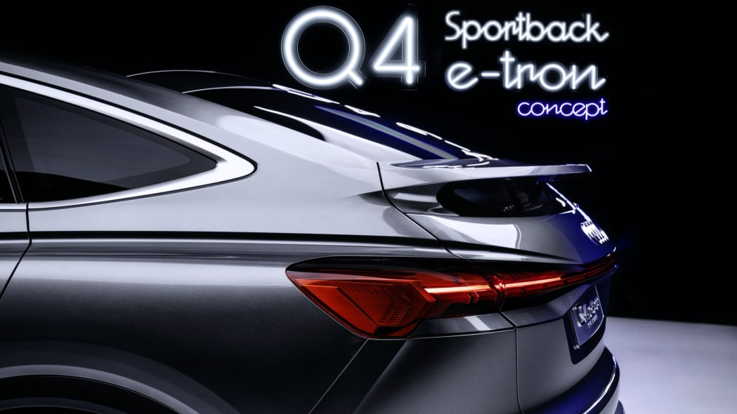 Audi Q4 Sportback E-Tron concept studio photo 26