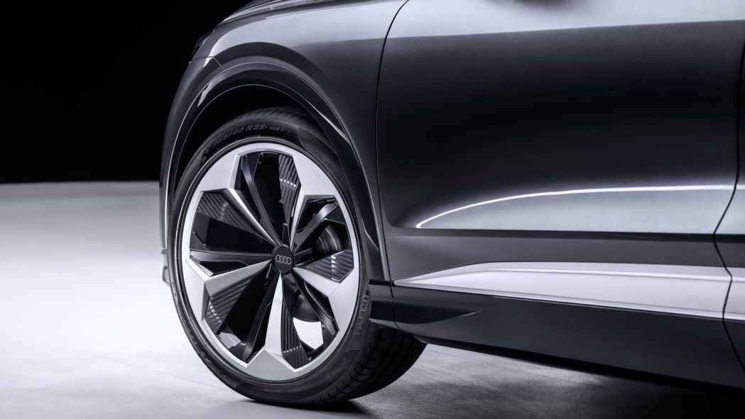 Audi Q4 Sportback E-Tron concept studio photo 28