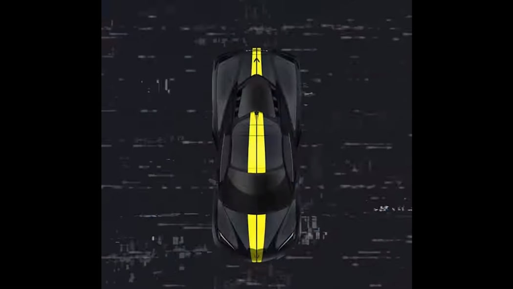2021 Chevrolet Corvette stripes preview