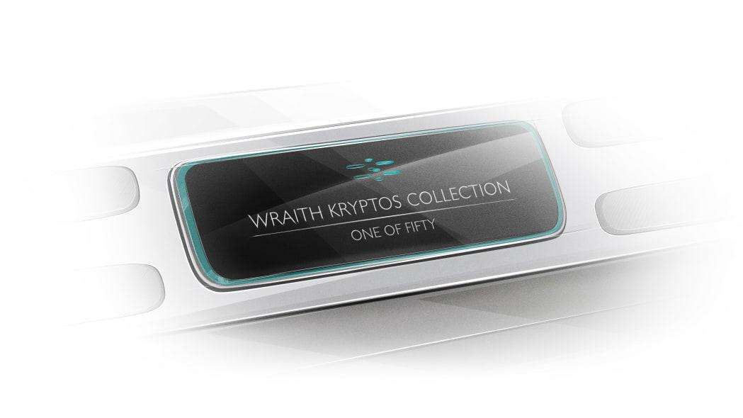 Rolls-Royce Wraith Kryptos Collection