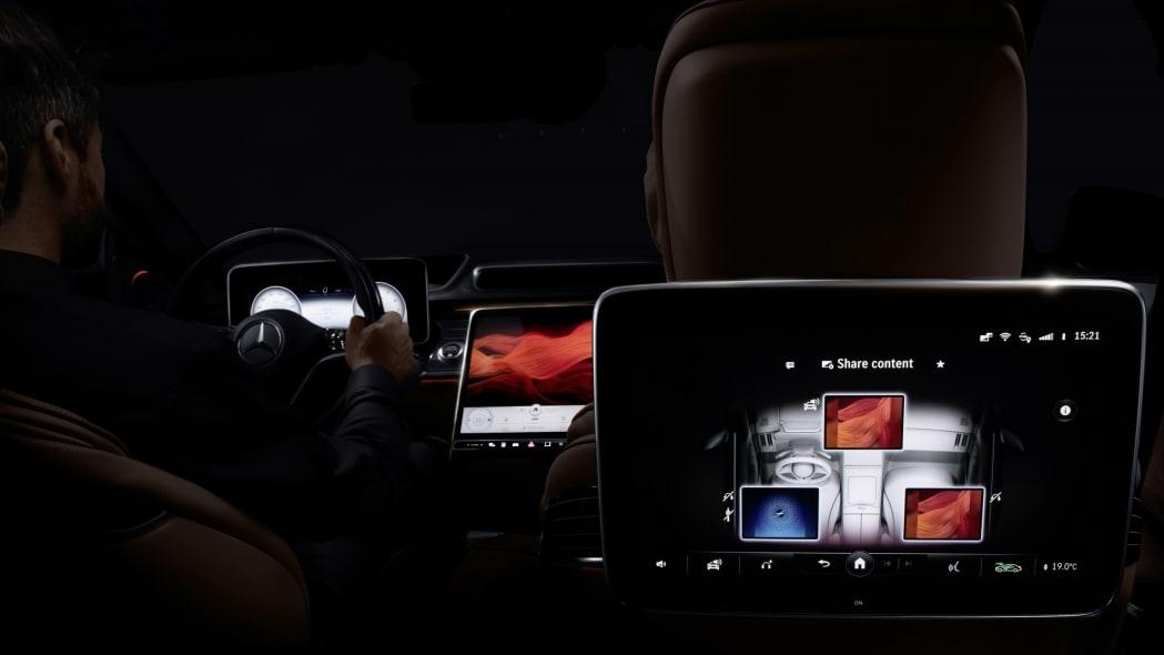 2022 Mercedes-Benz S-Class MBUX
