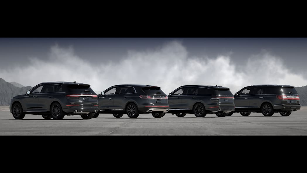 Lincoln SUVs with Monochromatic Package