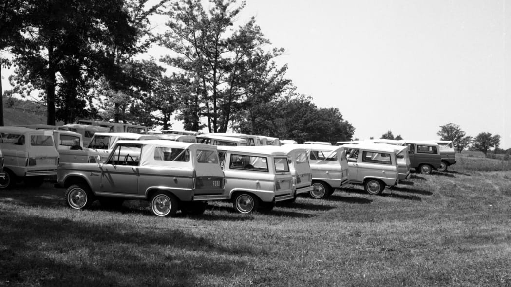 1966 Ford Bronco press preview