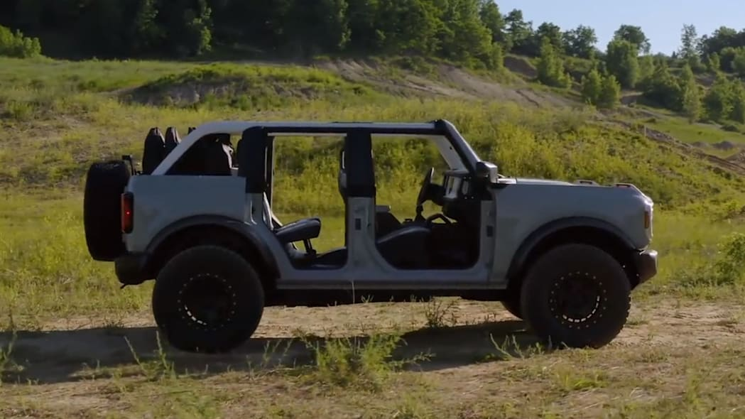 2021 Ford Bronco Modular Body