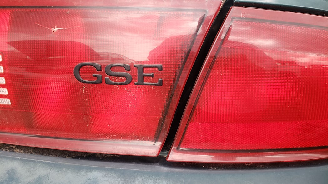 36 - 2000 Buick Regal GSE in Colorado Junkyard - photo by Murilee Martin
