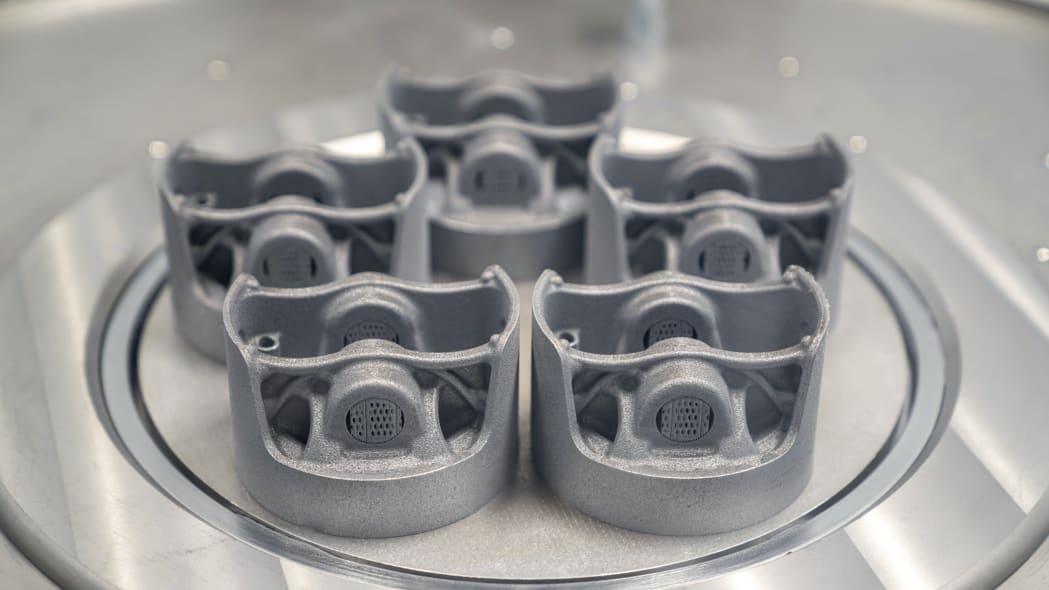 Porsche's 3D-printed flat-six piston