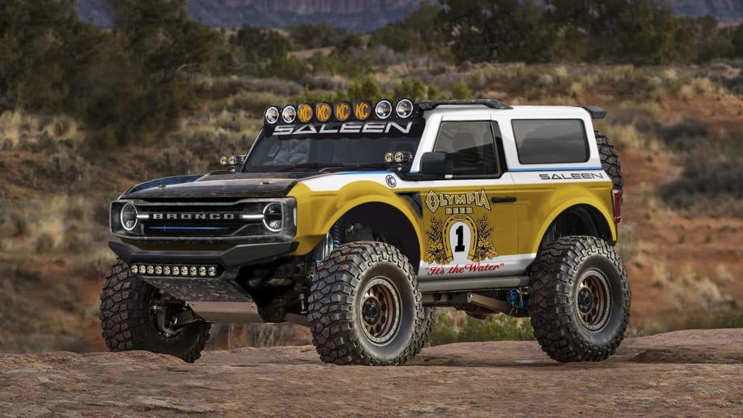 2021 Saleen Bronco Big Oly tribute rendering