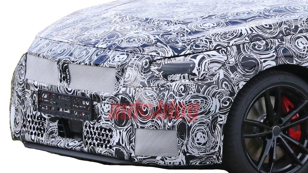 2022 BMW 2 Series coupe prototype