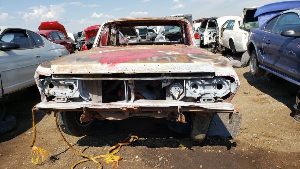 28 - 1962 Chevrolet in Colorado Junkyard - photo by Murilee Martin
